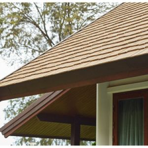 SHERA Zedar Shake : a durable roof tile with a natural aesthetics